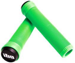 Odi Long Neck SL BMX Grips, 143mm, Green