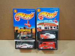 Lot of 4 - Hot Wheels Jiffy Lube Signature Service - tail dr