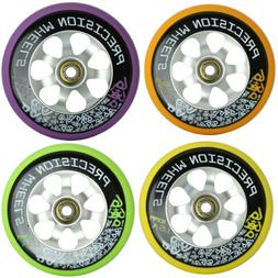 Lucky Bearings + 110mm Pro Scooter Wheel Labeda USA Made Pre