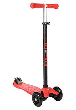 Micro Maxi Kick Scooter - Red with T-bar