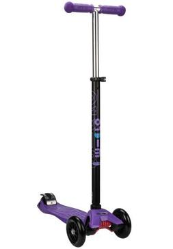 Maxi Micro Scooter - Purple with T-BAR Steering