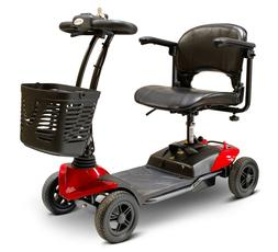 New EWheels Medical EW-M35 Lightweight 4-Wheel Red Scooter