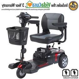 """Drive Medical Phoenix 3 Wheel Heavy Duty Scooter, 17.5"""" Wi"""