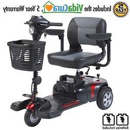 """Drive Medical Phoenix 3 Wheel Heavy Duty Scooter, 20"""" Wide"""