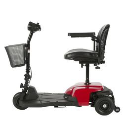 Drive Medical Red Bobcat X3 3 Wheel Transportable Scooter Bl