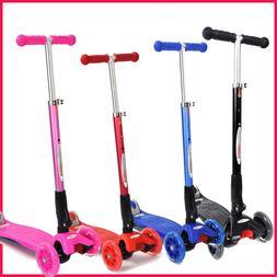 Chromewheels Mega Glidekick 3-Wheel Foldable Scooter + Light