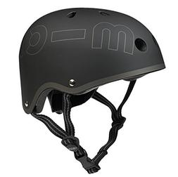 Micro Metallic Black Helmet
