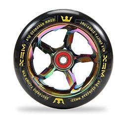 Madd Gear MFX RWilly Signature Wheel, Neo Chrome, 120mm