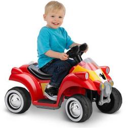 Mickey Mouse Hot Rod Quad 6v Battery-powered Ride-on By Kid