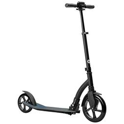 Jetson Midnight Folding Kick Scooter with Sturdy Wide Wheels