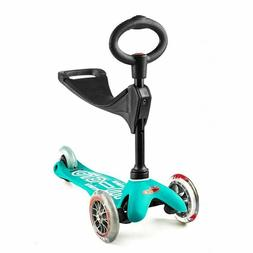 Micro Kickboard Mini 3-in-1 Deluxe 3-Stage Ride-On Scooter T