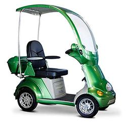 Mobility Scooter with Canopy Color: Green
