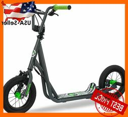 mongoose expo scooter 12 wheels grey front