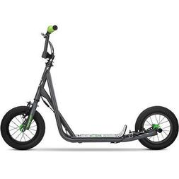 """Mongoose 12"""" Expo Scooter 5-7 years old with gray finish"""
