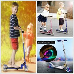 2 Wheels Kick Scooter for Adult&Kids Foldable Adjustable Hei