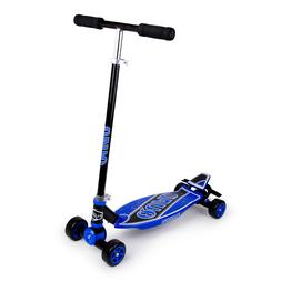 New in box Fuzion 4 x 4 carving scooter F0245 royal blue & b