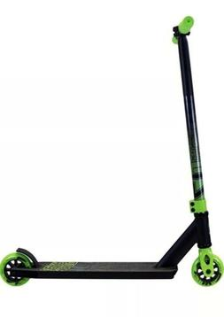 "NEW Madd Gear ""Whip-Pro"" Premium Black & Green Scooter - NIB"