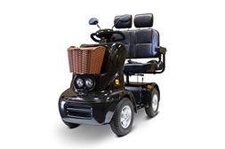 eWheels Oversize Dual Seat Mobility Scooter - Four Wheel, Lo