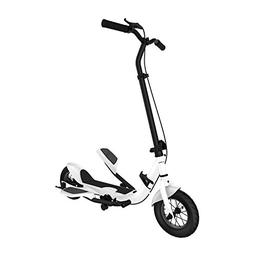 Superride Pedal Scooter, 10 Inch Air Wheel Fold Scooter, Ped