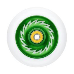 Razor Phase Two Solid Alloy Core Wheel - Green/White