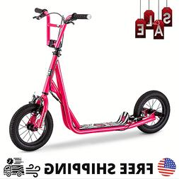 Pink Kick Scooter Girls Kids Push Outdoor Children's Ride On