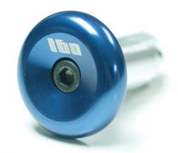 ODI End Plug - Aluminum Blue, One Size