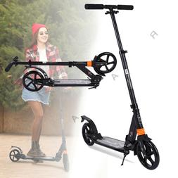 Portable Folding Kick Scooter Sport Adjustable Ride Exercise