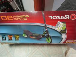 Razor Power Core E90 Electric Scooter - Green NEW, DAMAGED B