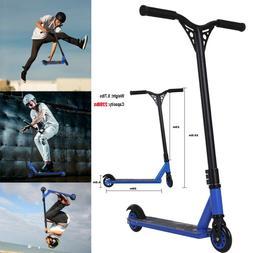 Pro Aluminum Stunt Kick Scooter Skatepark TPE Handlebar For
