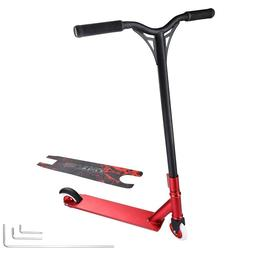 Pro Aluminum Tricks Stunt Scooter for Adult Red 65x52x85cm 4