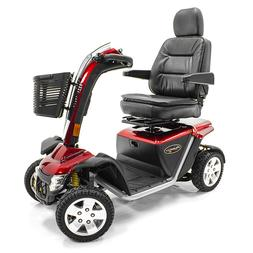 WARNING:PURSUIT XL Heavy Duty Pride Electric Mobility Scoote