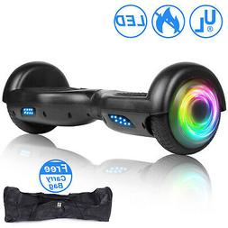 Razor 6.5hoverboard Black LED Electric Self Balancing Scoote