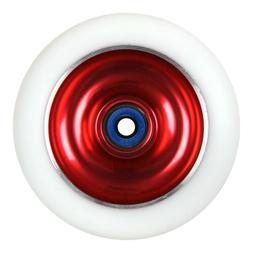 Red Metal Core 100mm Scooter Wheel For Phoenix MGP Razor Luc