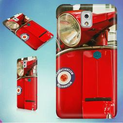 RED MOTOR SCOOTER HARD CASE FOR SAMSUNG GALAXY PHONES