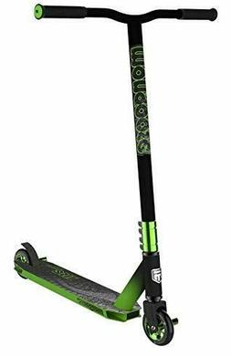 Mongoose Rise 100 Pro Freestyle Stunt Kick Scooter, Featurin