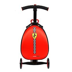 Ferrari Rolling Luggage Suitcase Scooter Foldable Trolley Tr