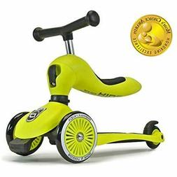 Scoot Ride 2 In 1 Bike Kick Scooter Combo For Children Ages