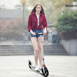 Scooter 2 Wheels T-Style Adults For Outdoor Sports Aluminum