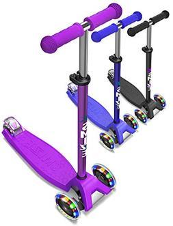 SMIZZE Kids Scooter Deluxe - Scooter for Kids Age 3-9 - Adju