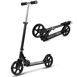 WeSkate Scooter for Adults/Teens, Big Wheels Easy Folding Ki