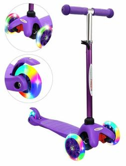 ChromeWheels Scooter for Kids, Deluxe 4 Adjustable Height 3