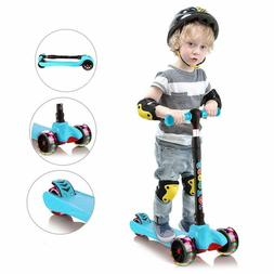 Scooter for Toddlers Kids 3 Wheel LED Light Up Flashing Whee