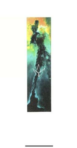 "ENVY SCOOTER GRIPTAPE -  GALAXY GRIPTAPE - 5.9"" x 23"" - AQUA"