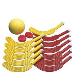 S&S Worldwide Scooter Hockey Set