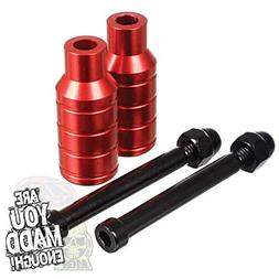 Madd Gear Scooter Integrated Extreme Axle Pegs Red