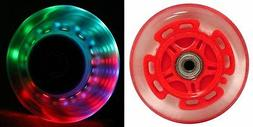 LED Scooter Wheels Bearings Razor Scooters Accessories Light