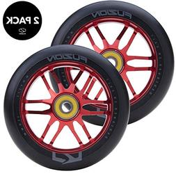 Fuzion Pro Scooter Wheels 110mm Hollow Core Stunt Scooter Si