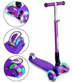 ChromeWheels Scooters Kids, Glider Deluxe Kick Scooter 4 Adj
