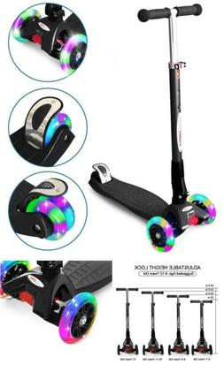 Scooters Toys kids LED Light Gift Girls Boys Deluxe Kick Chi