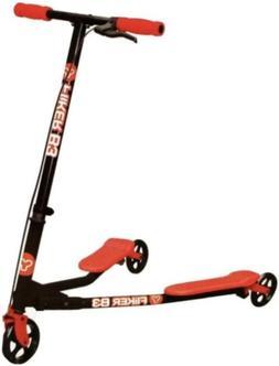 Yvolution Self-propelling Scooter Y Fliker B3 Red for Kids N